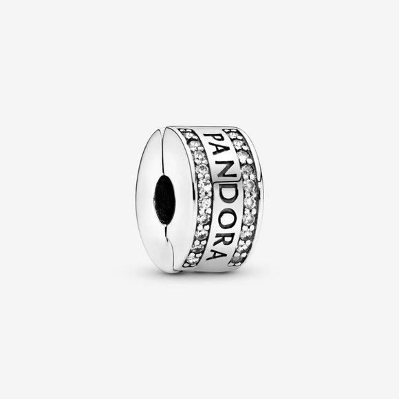 Pandora Jewelry - Pandora Logo Clip Charm